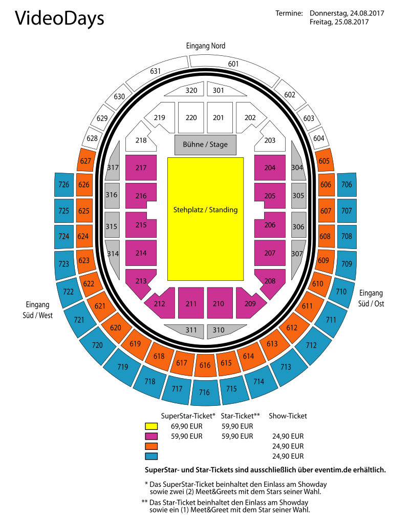 Videodays Köln 2017 Stagelink Tickets